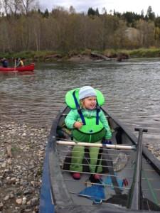 kids can canoe, too!
