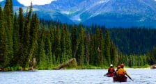 guided canoeing trips in BC