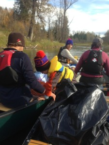 river clean-up in our community