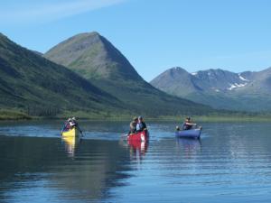 upper stikine river canoeing