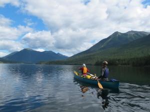 Lake paddling.