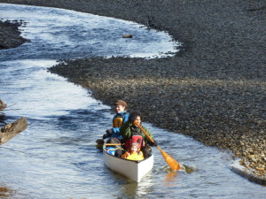 whitewater canoeing lessons in BC