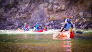 whitewater canoeing courses in bc okanagan