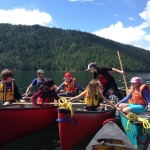 youth canoe camps in Vernon BC