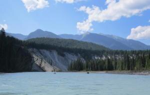 Elements Adventure Company canoe trip down the Kootenay River