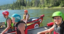 canoeing day trips in BC