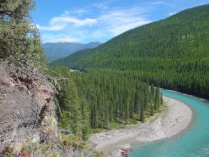 Kootenay River scenery