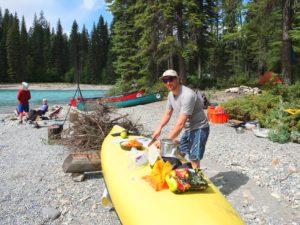 Elements Adventure Company kootenay river canoeing