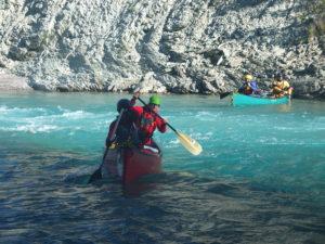 Canoeing skills