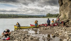 upper stikine river whitewater canoeing
