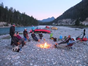 learn to guide a canoe trip
